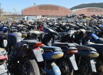 La Municipalidad rematará 605 motos y 33 autos
