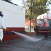 Covid-19 en Salta: Continúa la desinfección en la vía pública