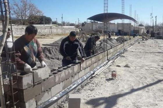 Es es una realidad en los municipios de Salta el programa «Clubes en Obra»