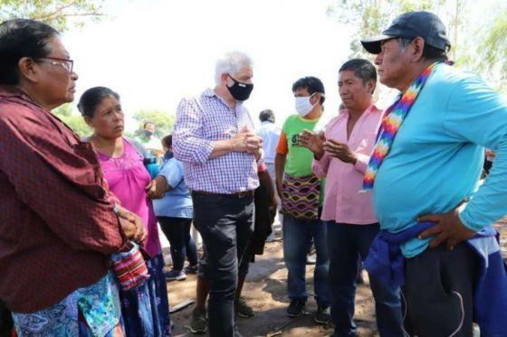 El Gobierno ratifica su voluntad de diálogo y acompañamiento a las comunidades originarias