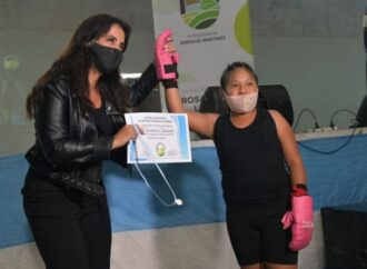 Elena Cornejo participó en el cierre de actividades deportivas en Rosario de Lerma
