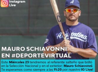 Deporte Virtual con el Beisbolista Mauro Schiavonni
