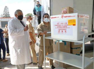 El Gobierno distribuye las vacunas Sputnik V al interior