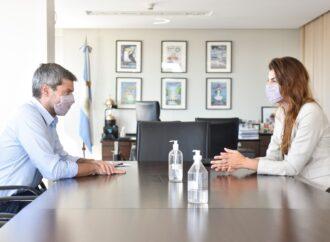 La Intendenta Bettina Romero se reunió con Matias Lammens