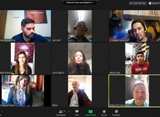 Reunión de referentes del comercio con la Intendenta Bettina Romero
