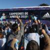 Héroes otra vez ¡Volvieron a la casa con la Copa América en sus manos!