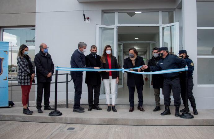 Se inauguró la Base Operativa Policial El Huaico